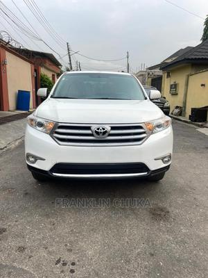 Toyota Highlander 2013 Limited 3.5l 4WD White   Cars for sale in Lagos State, Ojota