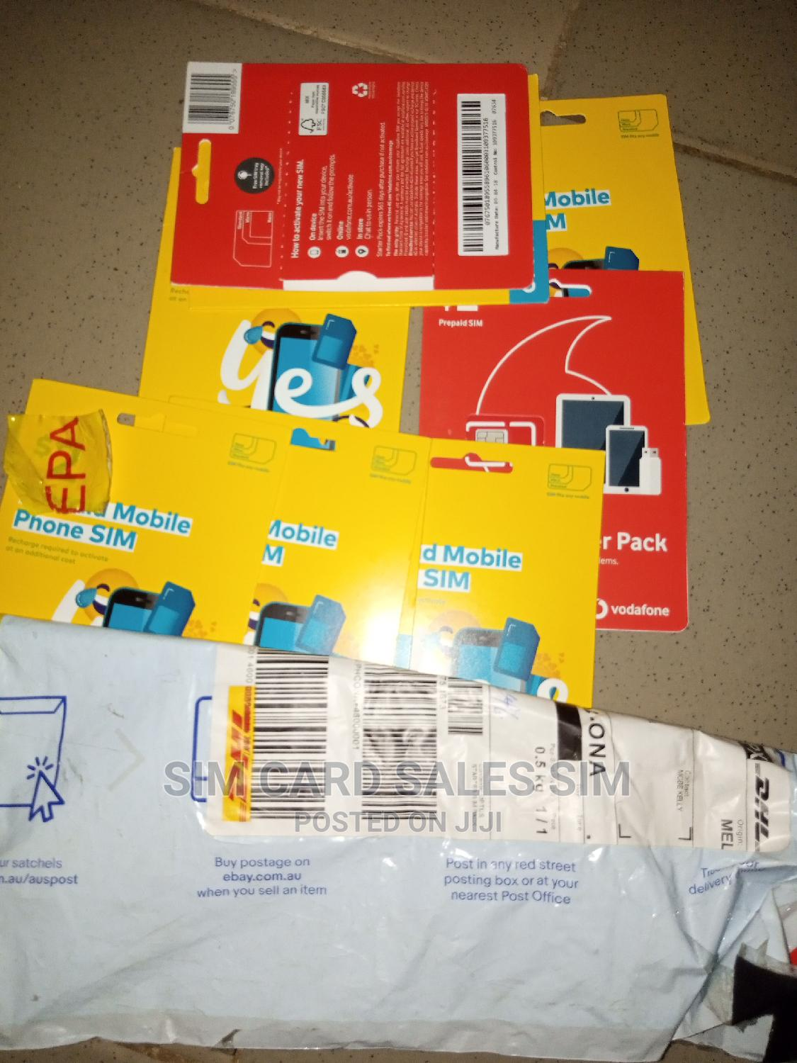Australia Registered Sim Cards for Sale | Accessories for Mobile Phones & Tablets for sale in Ibadan, Oyo State, Nigeria