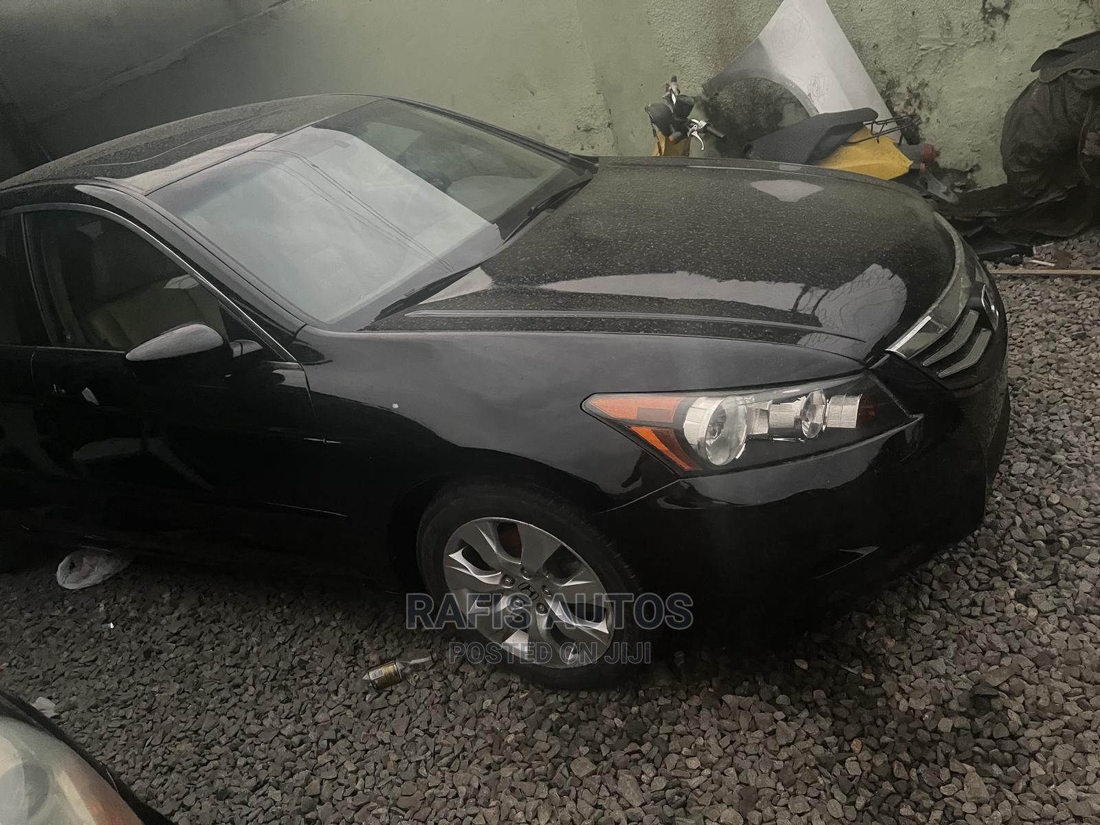 Honda Accord 2008 Black | Cars for sale in Yaba, Lagos State, Nigeria