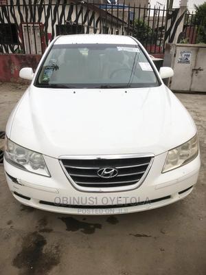 Hyundai Sonata 2009 2.0 CRDi White | Cars for sale in Lagos State, Ikeja