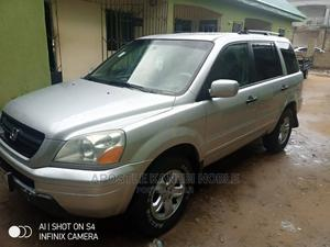 Honda Pilot 2004 EX 4x4 (3.5L 6cyl 5A) Silver | Cars for sale in Delta State, Ndokwa West
