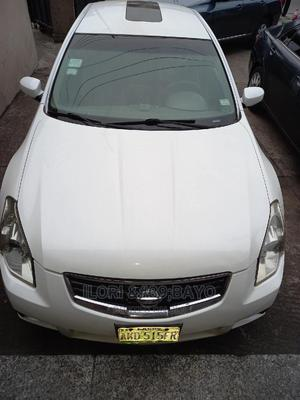 Nissan Maxima 2007 SE White | Cars for sale in Lagos State, Surulere