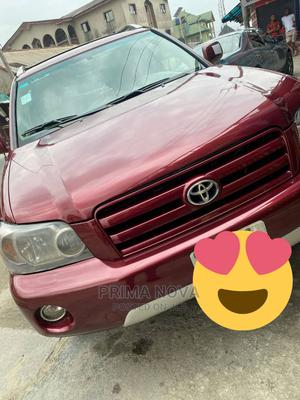 Toyota Highlander 2005 V6 4x4 Red | Cars for sale in Rivers State, Port-Harcourt
