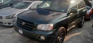Toyota Highlander 2003 V6 AWD Green   Cars for sale in Rivers State, Port-Harcourt