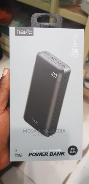 Havit Led Display 20000mah Powerbank PB5644   Accessories for Mobile Phones & Tablets for sale in Lagos State, Ikeja