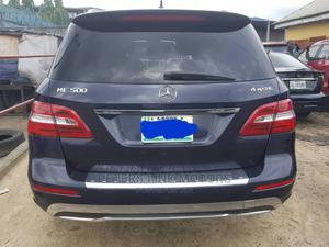 Mercedes-Benz M Class 2013 ML 350 4Matic Blue | Cars for sale in Delta State, Warri