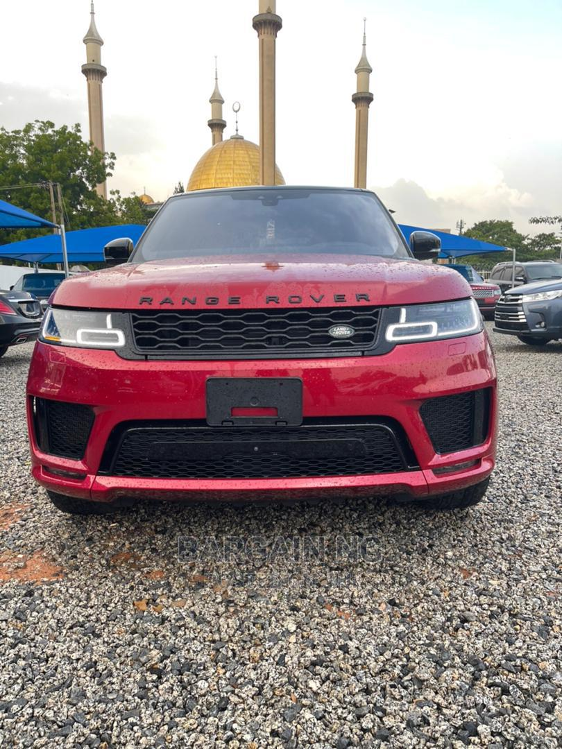 Land Rover Range Rover Sport 2019 Red