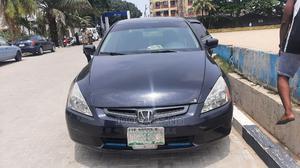 Honda Accord 2005 Sedan EX Automatic Black | Cars for sale in Lagos State, Surulere
