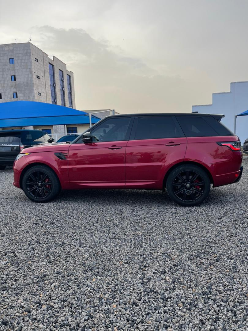 Land Rover Range Rover Sport 2019 Red | Cars for sale in Central Business District, Abuja (FCT) State, Nigeria