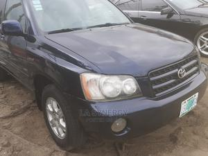 Toyota Highlander 2003 Blue   Cars for sale in Lagos State, Amuwo-Odofin