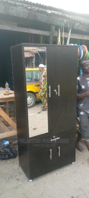 32inches/6fit Waldrobe | Furniture for sale in Lagos State, Oshodi