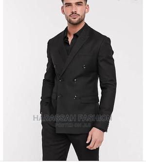 Black Double Breasted Suit | Clothing for sale in Oyo State, Ibadan