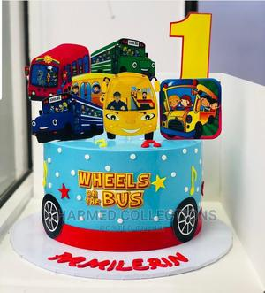 Wheels on the Bus Cake | Party, Catering & Event Services for sale in Lagos State, Agboyi/Ketu