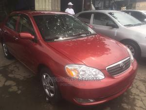 Toyota Corolla 2007 Red   Cars for sale in Lagos State, Apapa