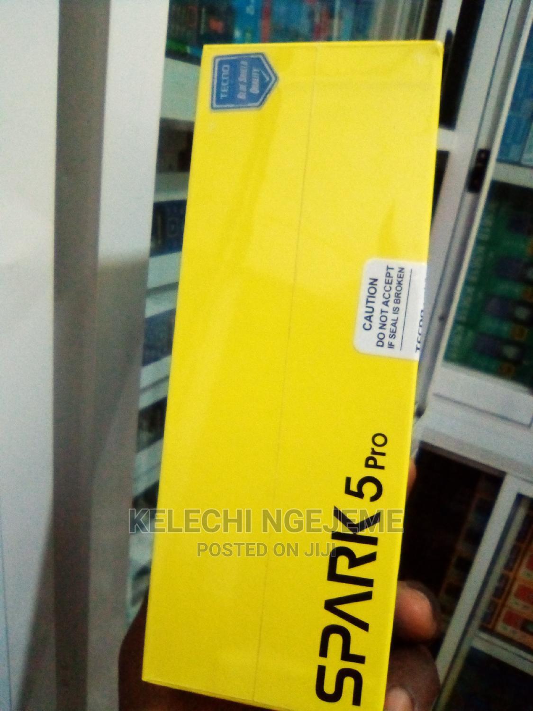 New Tecno Spark 5 Pro 128 GB Black   Mobile Phones for sale in Ikeja, Lagos State, Nigeria