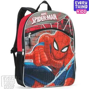 Marvel Spiderman 16 Full Size Backpackschool Bag   Babies & Kids Accessories for sale in Lagos State, Ikeja