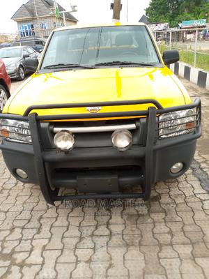 Nissan Frontier 2004 SC V6 Crew Cab Yellow   Cars for sale in Lagos State, Ojo