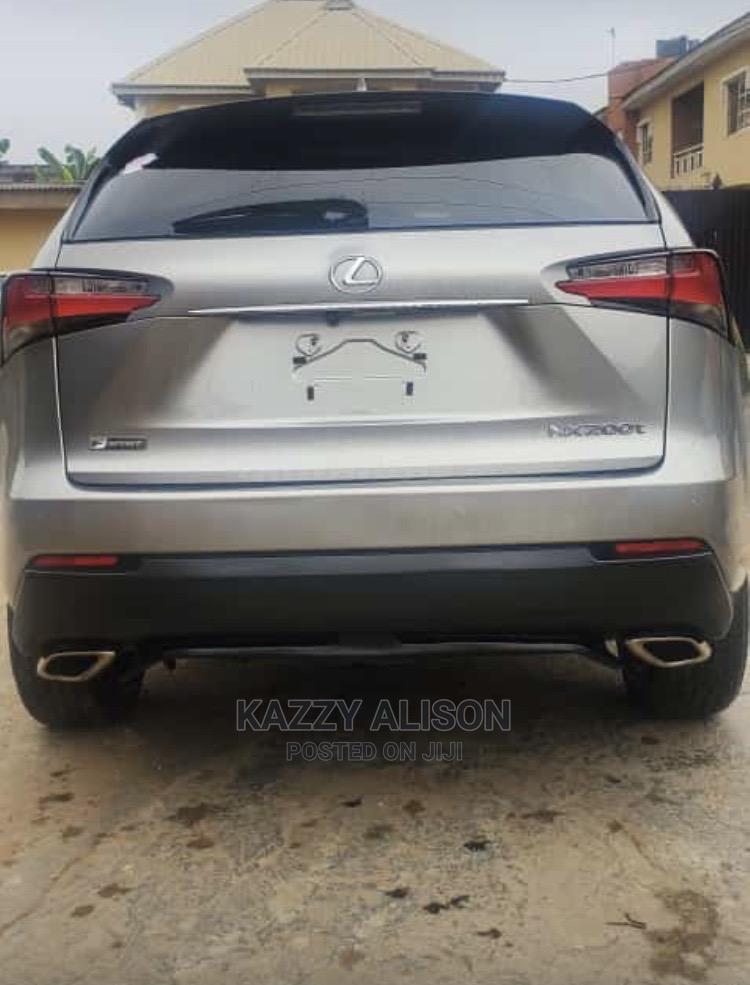 Lexus NX 2016 200t AWD Gray | Cars for sale in Ikeja, Lagos State, Nigeria