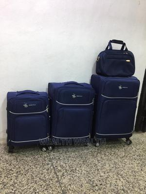 Swiss Polo Trolley Luggage Blue Elegant Bag | Bags for sale in Lagos State, Ikeja
