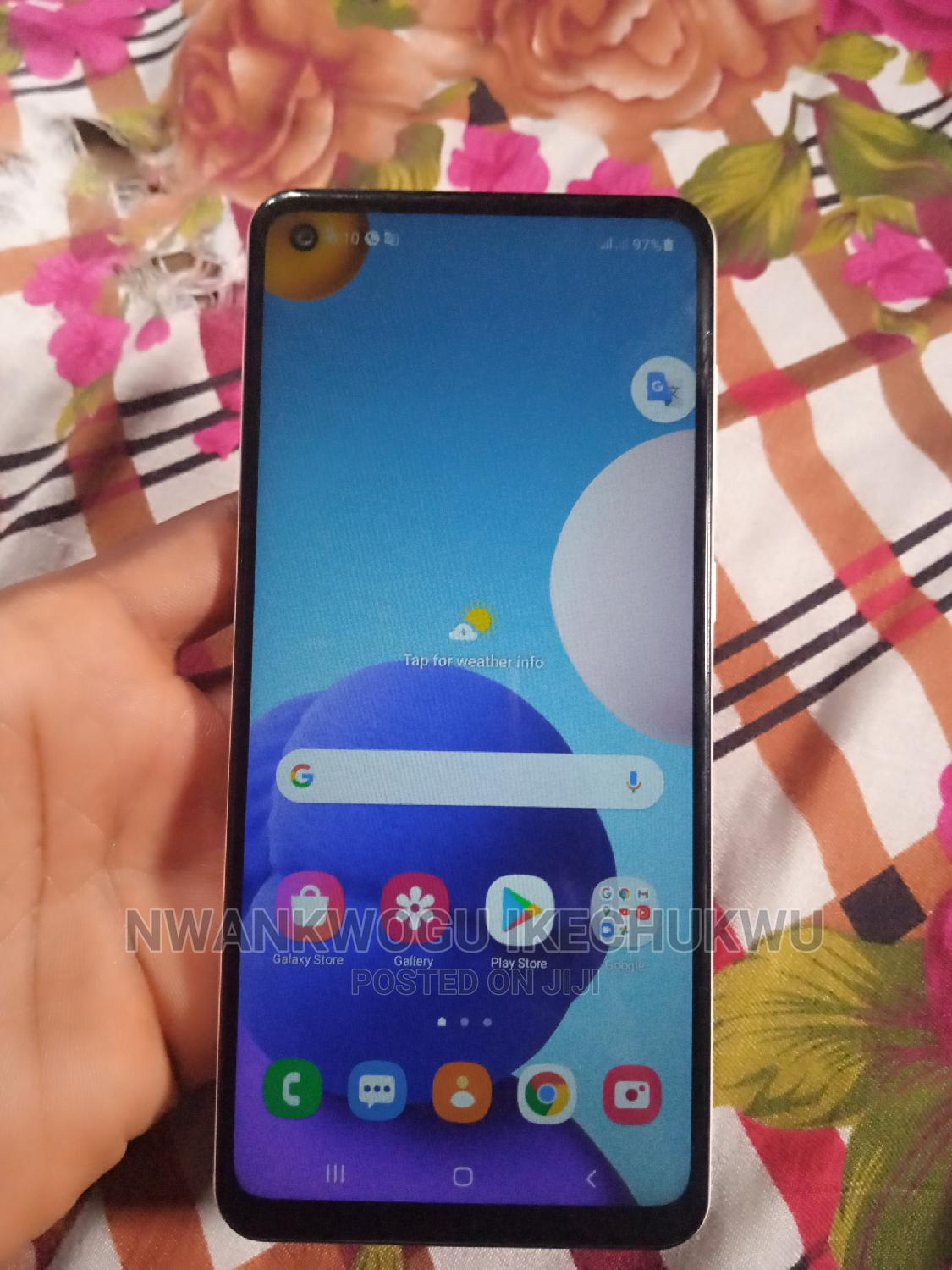 Samsung Galaxy A21s 64 GB White | Mobile Phones for sale in Owerri, Imo State, Nigeria