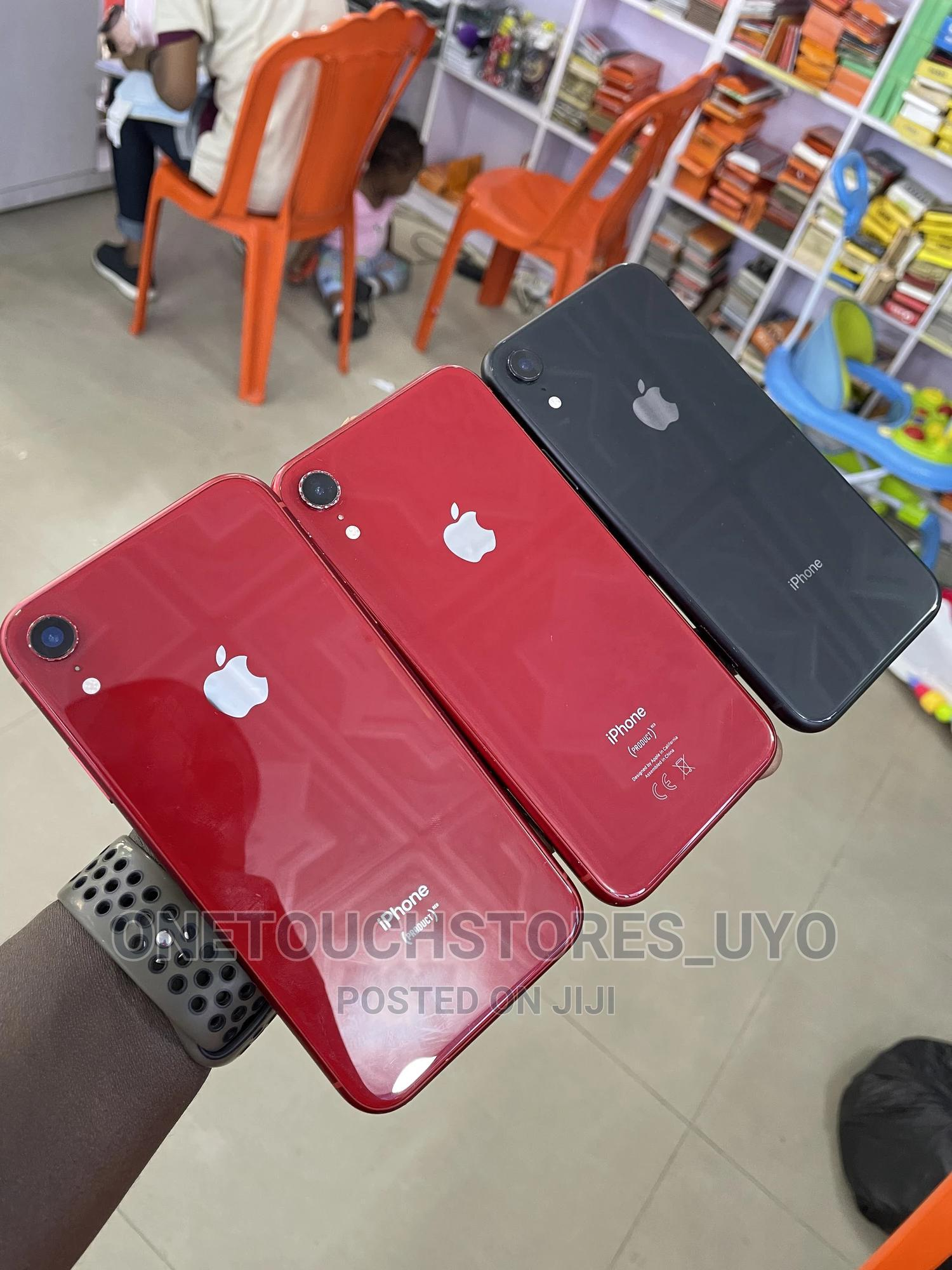 Apple iPhone XR 128 GB Black   Mobile Phones for sale in Uyo, Akwa Ibom State, Nigeria