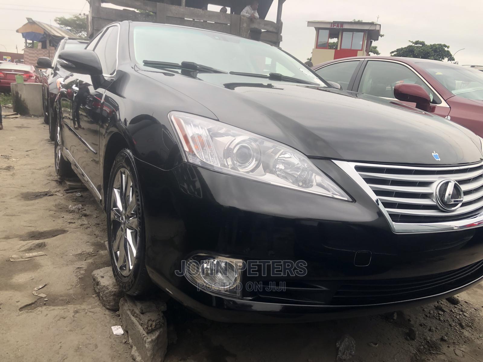 Lexus ES 2011 350 Black | Cars for sale in Apapa, Lagos State, Nigeria