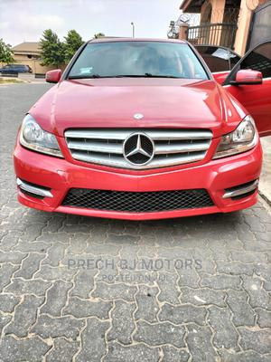 Mercedes-Benz C350 2013 Red   Cars for sale in Lagos State, Ogba