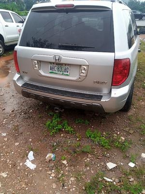 Honda Pilot 2004 EX 4x4 (3.5L 6cyl 5A) Silver | Cars for sale in Abuja (FCT) State, Gwarinpa