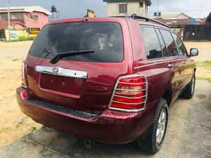 Toyota Highlander 2002 Red | Cars for sale in Rivers State, Oyigbo