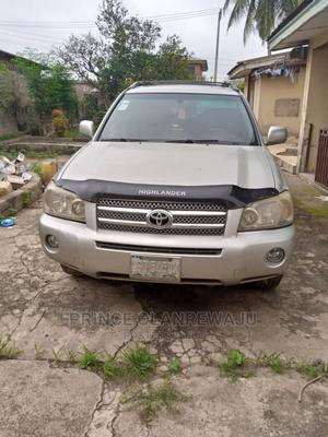 Toyota Highlander 2006 Limited V6 4x4 Gray | Cars for sale in Osun State, Osogbo