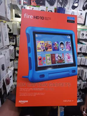 New Amazon Fire HD 10 (2019) 32 GB Silver   Tablets for sale in Lagos State, Ikeja