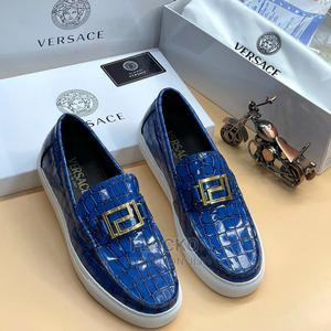 Original Versace Casual Blue Sneakers Available   Shoes for sale in Lagos State, Surulere