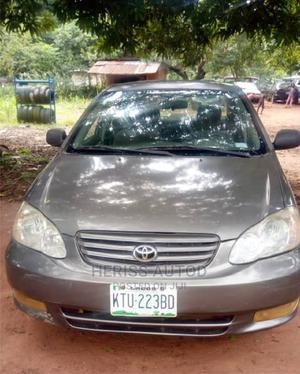 Toyota Corolla 2003 Sedan Automatic Gray | Cars for sale in Ogun State, Abeokuta North