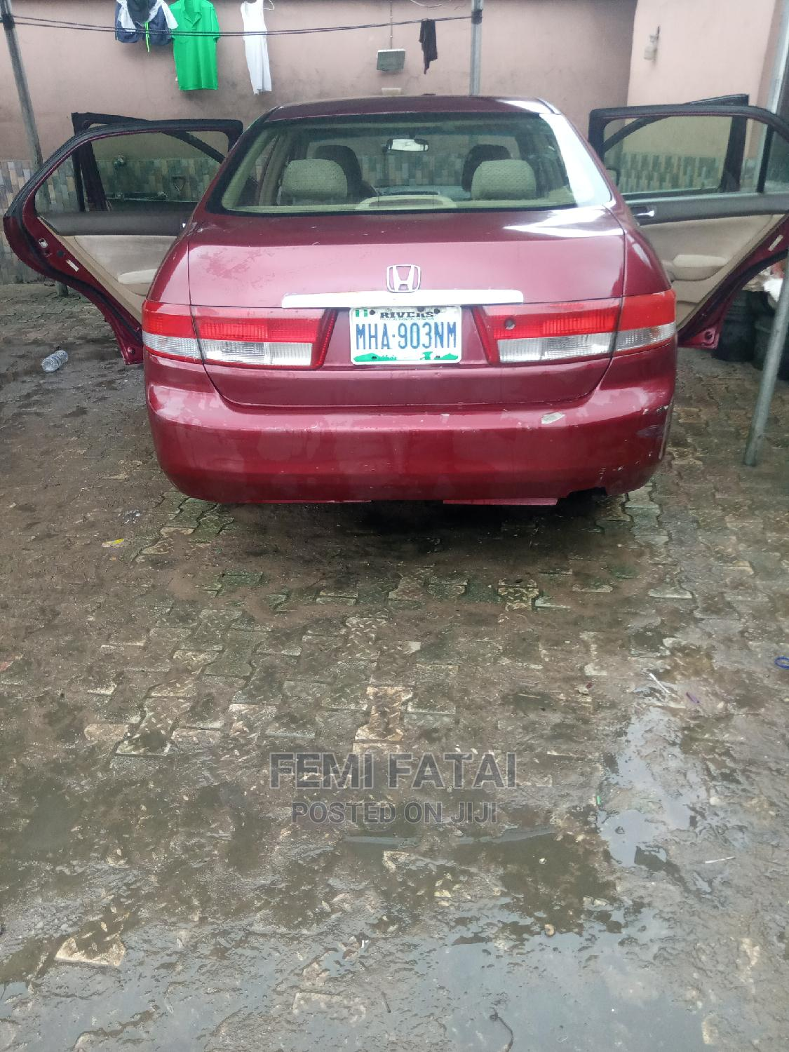 Archive: Honda Accord 2004 Red