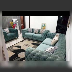 6seater Chesterfield Sofa Production Time:13days   Furniture for sale in Lagos State, Amuwo-Odofin