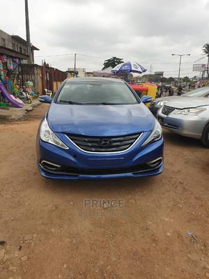 Hyundai Sonata 2014 Blue | Cars for sale in Lagos State, Alimosho