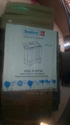 Scanfrost 6kgtwintub Semiautomatic Washingmachine-Sfsatt6m   Home Appliances for sale in Lagos State, Ojo