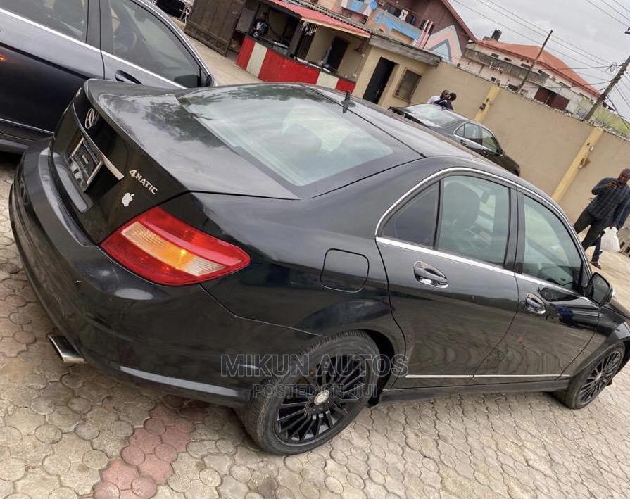 Mercedes-Benz C300 2008 Black | Cars for sale in Ikeja, Lagos State, Nigeria