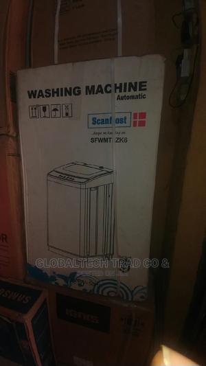 Scanfrost 6kg Fully Automatic Top Loader Washing Machine   Home Appliances for sale in Lagos State, Ojo