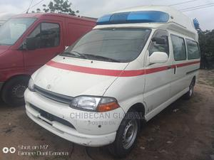Toyota Hiace Ambulance Tokunbo Petrol 2002 | Buses & Microbuses for sale in Lagos State, Apapa