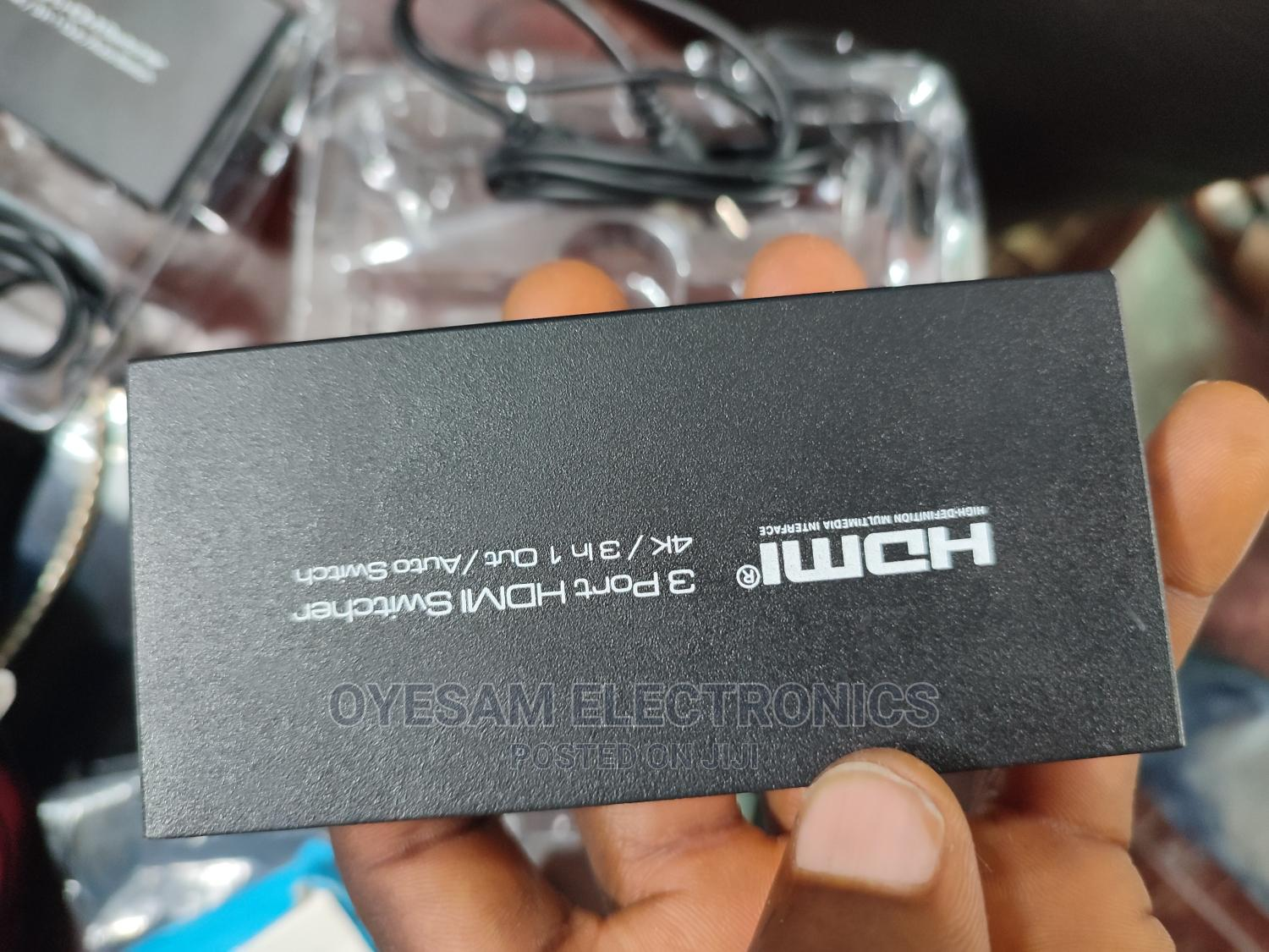 Tesco 4K HDMI Switch 3-Way | Accessories & Supplies for Electronics for sale in Ojo, Lagos State, Nigeria