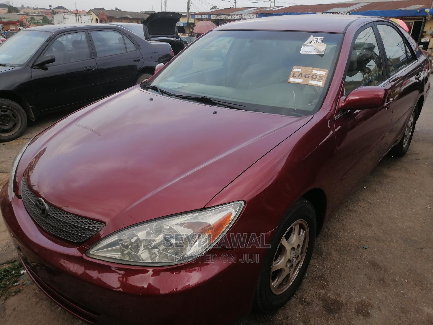 Toyota Camry 2003 Red