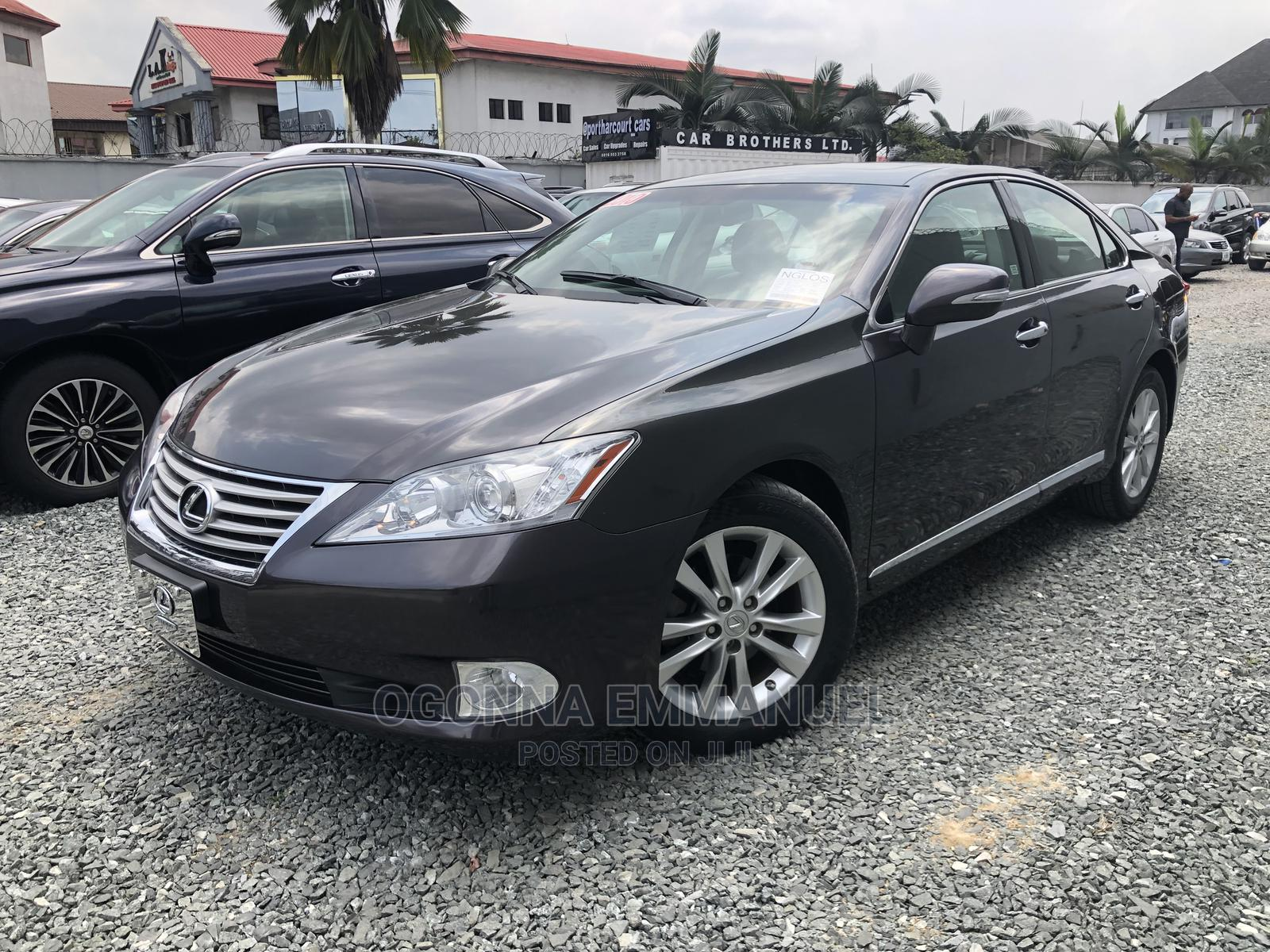 Lexus ES 2010 350 Gray | Cars for sale in Port-Harcourt, Rivers State, Nigeria