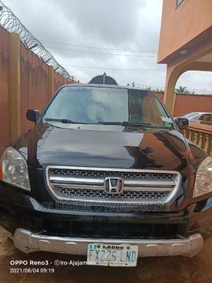 Honda Pilot 2005 EX 4x4 (3.5L 6cyl 5A) Black | Cars for sale in Lagos State, Ikorodu