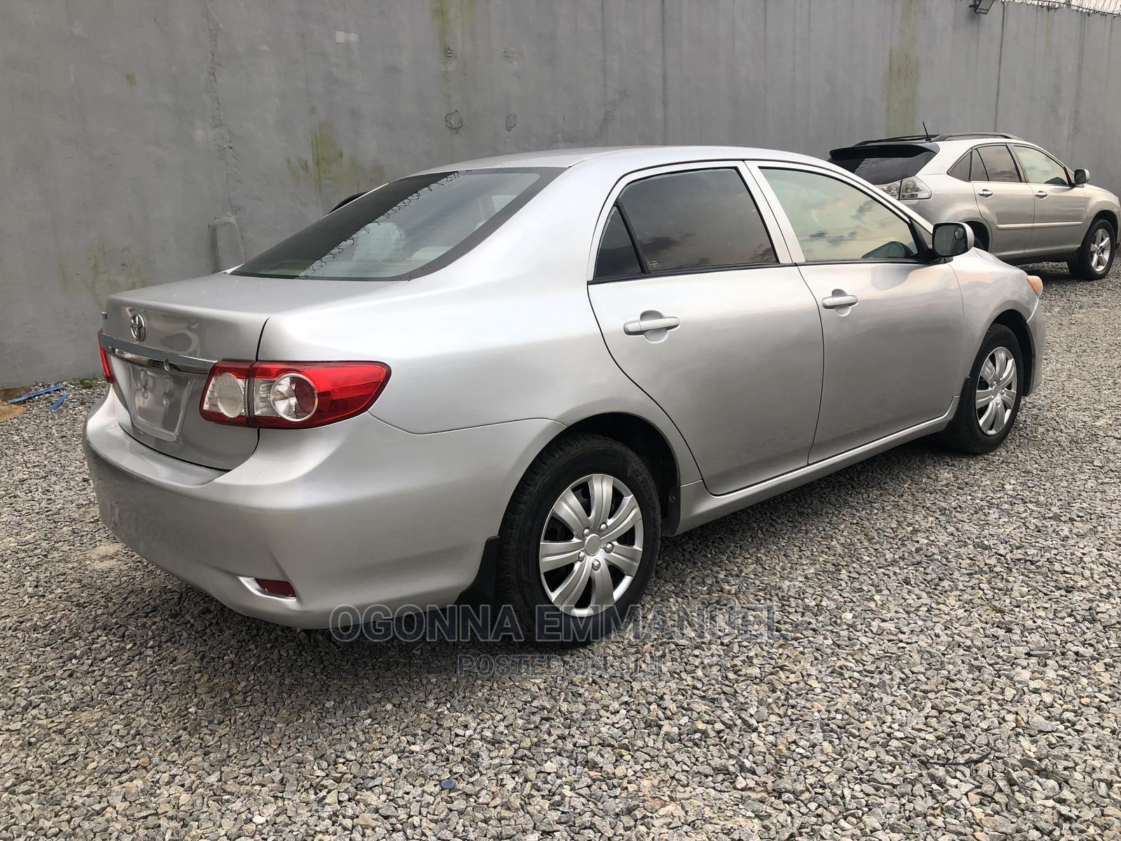 Toyota Corolla 2012 Silver   Cars for sale in Port-Harcourt, Rivers State, Nigeria