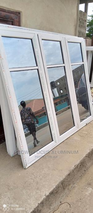 Aluminum Casement Window With Net | Windows for sale in Lagos State, Amuwo-Odofin