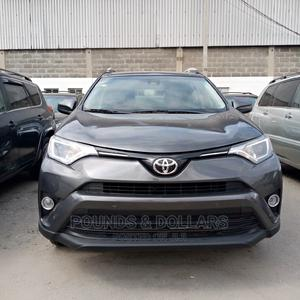 Toyota RAV4 2017 XLE AWD (2.5L 4cyl 6A) Gray | Cars for sale in Lagos State, Apapa