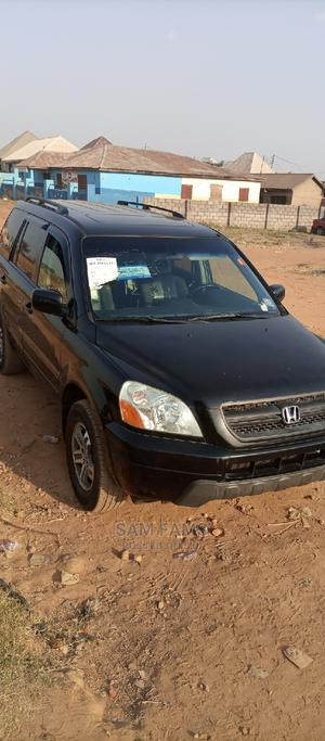 Honda Pilot 2005 EX-L 4x4 (3.5L 6cyl 5A) Black   Cars for sale in Abuja (FCT) State, Central Business District