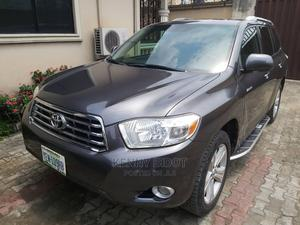 Toyota Highlander 2008 Limited 4x4 Gray | Cars for sale in Rivers State, Port-Harcourt