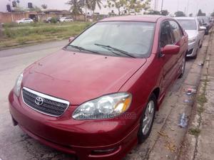 Toyota Corolla 2006 S Red | Cars for sale in Lagos State, Ejigbo